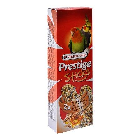 Лакомство для попугаев Versele-Laga Prestige средних Палочки с орехами и медом 70г 2шт