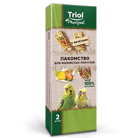 Лакомство для попугаев Triol Original волнистых 2шт 55г