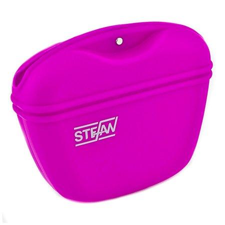 Сумочка для лакомств Stefan силиконовая пурпурная Stefan