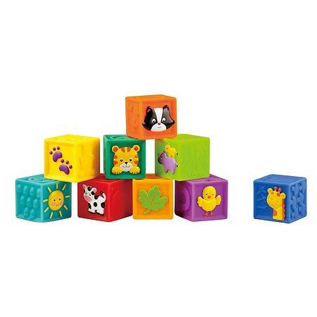 Мягкие кубики Little Hero 9 шт