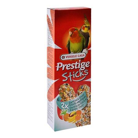 Лакомство для попугаев Versele-Laga Prestige средних Палочки с экзотическими фруктами 70г 2шт