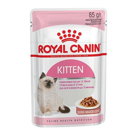 Корм влажный для котят ROYAL CANIN Kitten 85г кусочки в соусе