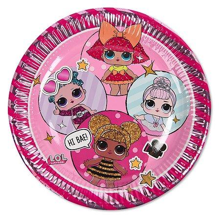 Тарелка Decorata Party L.O.L. 8шт 1502-4175