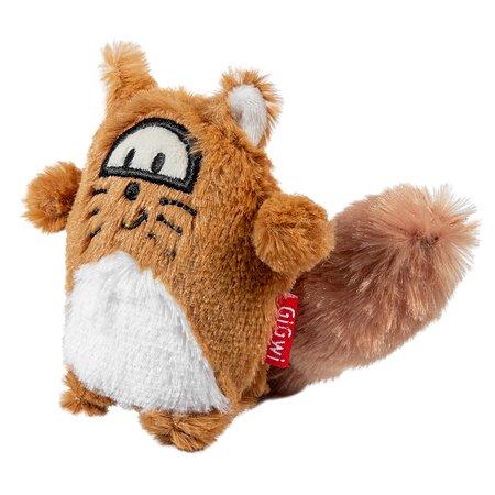 Игрушка для собак GiGwi Лиса с пищалкой 75220