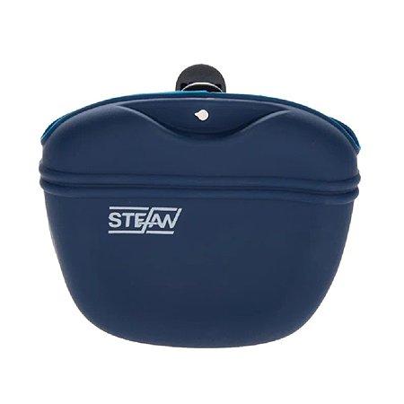 Сумочка для лакомств Stefan силиконовая синяя Stefan