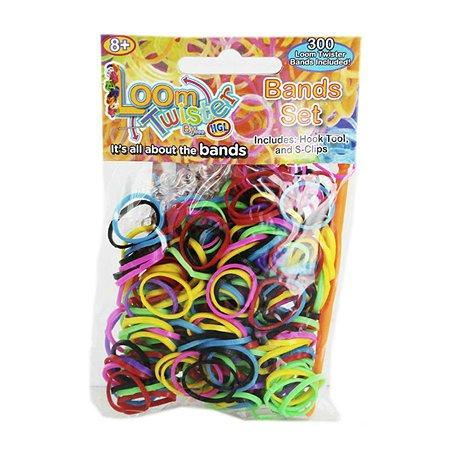 Набор для плетения браслетов LOOM TWISTER из ароматизированных резинок (радужный)