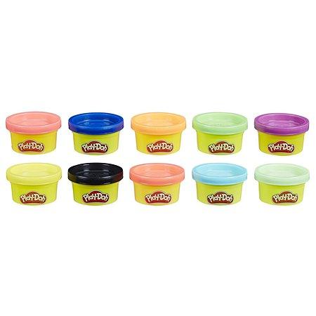 Пластилин Play-Doh 10цветов 22037EU6
