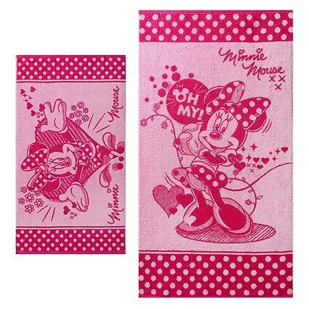 Комплект полотенец Cleanelly махровых MinnieLove
