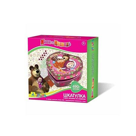 Мозаика-шкатулка Orb Factory Маша и Медведь