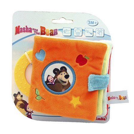 Плюшевая книжечка Simba Маша и Медведь