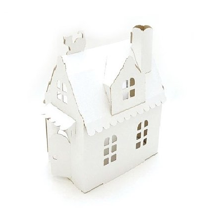 Кукольный домик из картона Attivio Домик Алисы (белый )