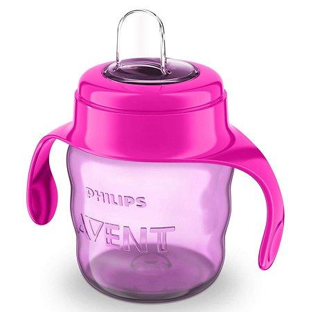 Чашка с носиком Philips Avent Comfort 200 мл 6 мес+ Розовая