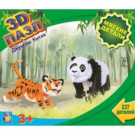 3D пазл 1TOY Джунгли Китая  237 деталей