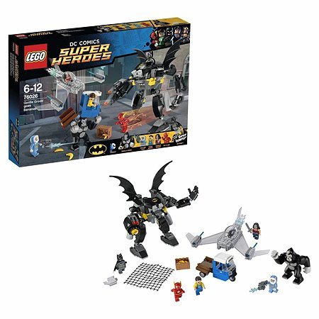 Конструктор LEGO Super Heroes Горилла Гродд сходит с ума (76026)