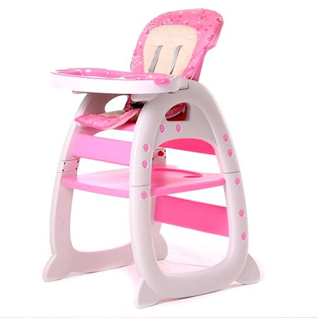 Стул для кормления Babyton Розовый