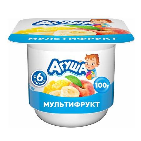 Творог фруктовый Агуша Мультифрукт 3.9%100г с 6месяцев