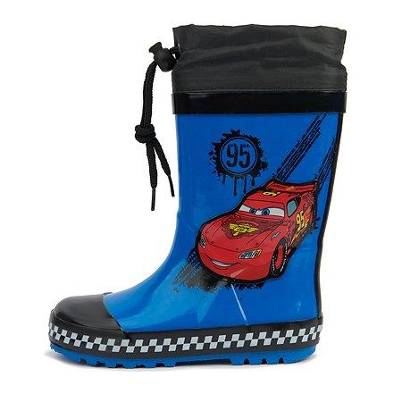 Резиновые сапоги Cars синие