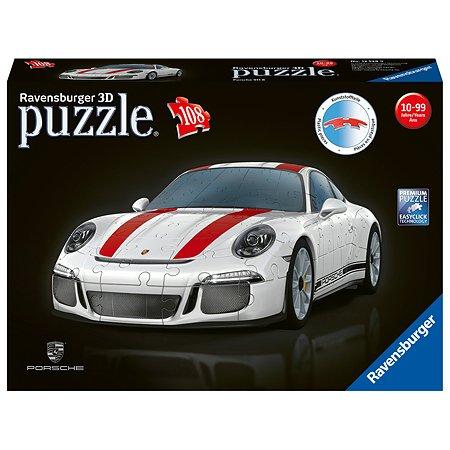 Пазл 3D Ravensburger Porsche 911R 108элементов 12528