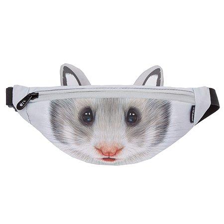 Сумка Grizzly Мышь малая Серый PS-070-5/6