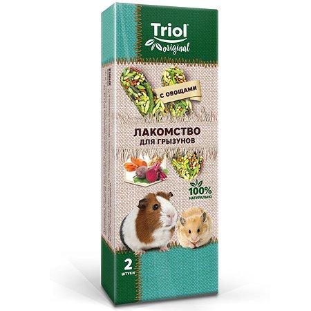 Лакомство для грызунов Triol Original с овощами 2шт 50г