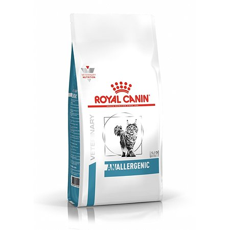 Корм для кошек ROYAL CANIN Anallergenic при пищевой аллергии с острой непереносимостью 2кг
