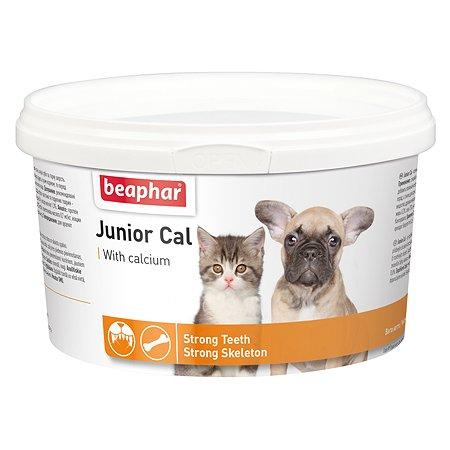 Смесь для щенков и котят Beaphar Junior Cal минеральная 250г