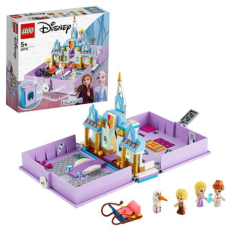 Конструктор LEGO Disney Princess Книга приключений Анны и Эльзы 43175