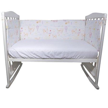 Бортик Babyton в кроватку Кошкин Дом 10141