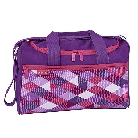 Сумка спортивная Herlitz Pink Cubes XL 50021888
