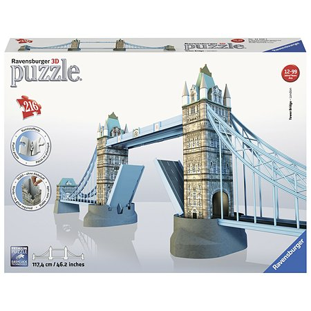 Пазл 3D Ravensburger Тауэрский мост в Лондоне 216элементов 12559