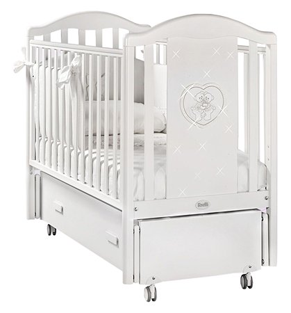 Кровать FERETTI Mon Amour Swing Bianco/White Белая FER_L- MA-01-SW
