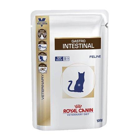 Корм для кошек ROYAL CANIN Veterinary Diet Gastro Intestinal при лечении ЖКТ кусочки в желе 100г
