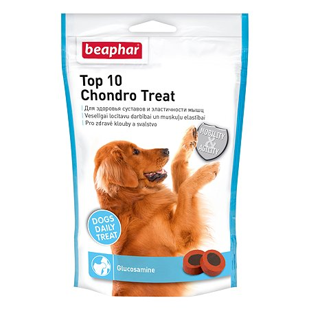 Витамины для собак Beaphar Top 10 Joint Treat c глюкозамином 150таблеток