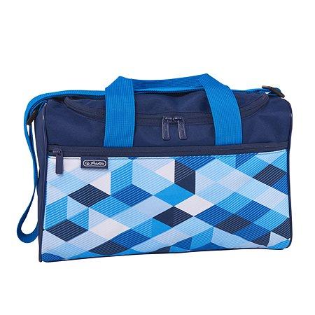 Сумка спортивная Herlitz Blue Cubes XL 50021918