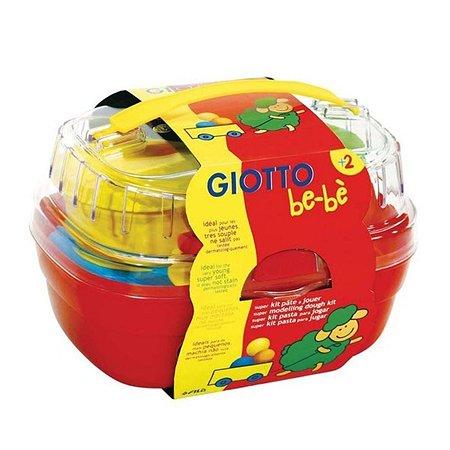 Набор для творчества в корзине Fila Giotto Be-Be (масса для лепки 4 цвета + инструменты)