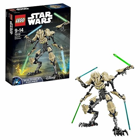 Конструктор LEGO Constraction Star Wars General Grievous™ (75112)
