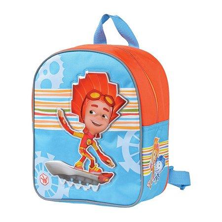 Рюкзак школьный Proff Фиксики (голубой/оранжевый)