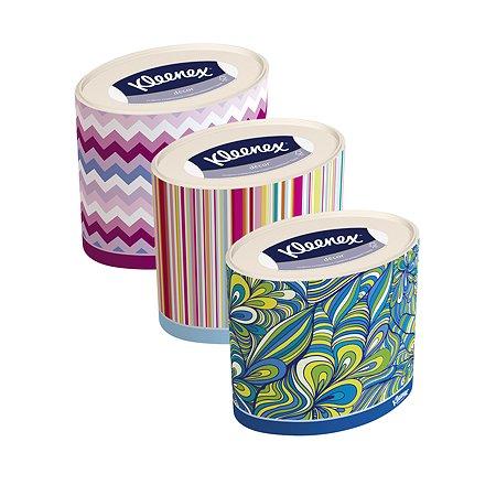 Салфетки Kleenex Декор овалы 64шт в ассортименте