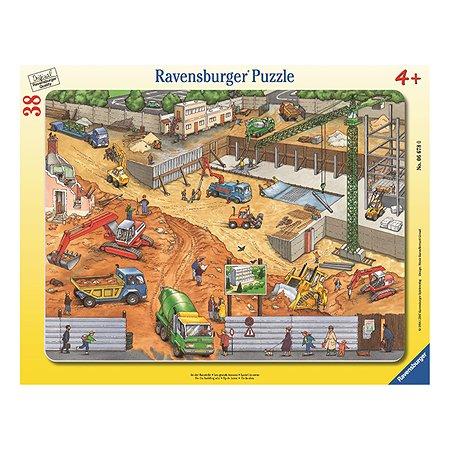 Пазл Ravensburger На стройке  38 шт