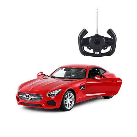 Машинка на радиоуправлении Rastar Mercedes AMG GT 1:14 Красная