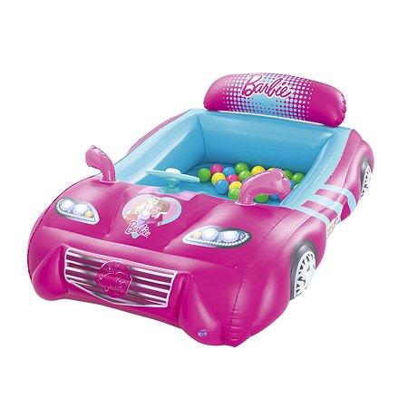 Центр игровой Bestway Barbie Машина с шариками 93207