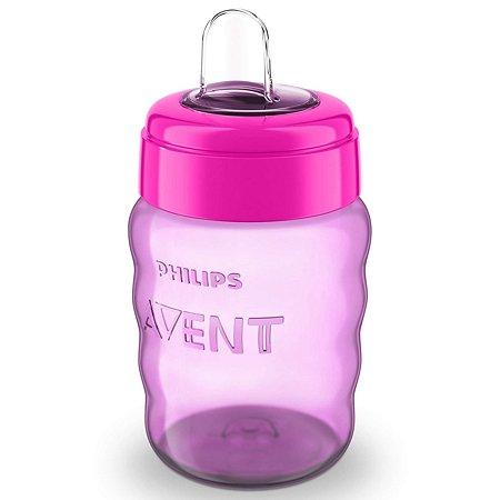 Чашка с носиком Philips Avent Comfort 260 мл 12 мес+ Розовая