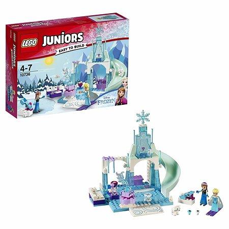Конструктор LEGO Juniors Игровая площадка Эльзы и Анны (10736)