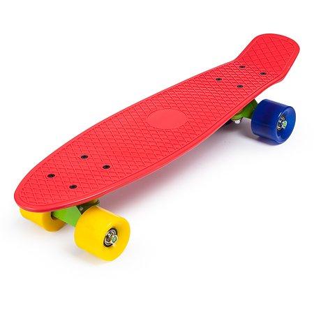 Скейтборд Kreiss 57 см красный