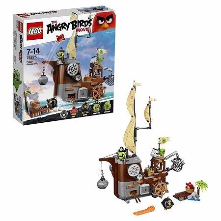Конструктор LEGO Angry Birds Пиратский корабль свинок (75825)