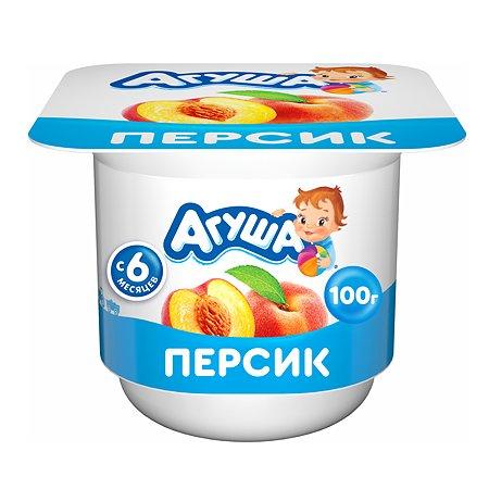 Творог фруктовый Агуша персик 3.9 с 6месяцев