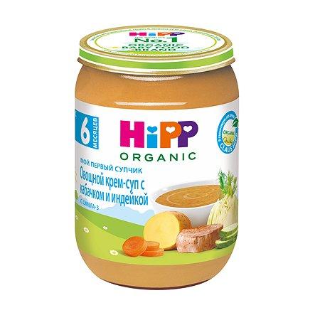 Крем-суп Hipp кабачки-индейка 190г с 6месяцев