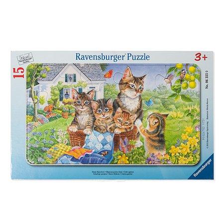Пазл Ravensburger Домашние любимцы 15 дет.