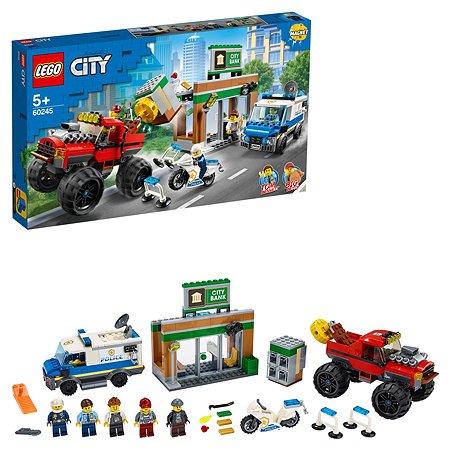 Конструктор LEGO City Police Ограбление полицейского монстр-трака 60245