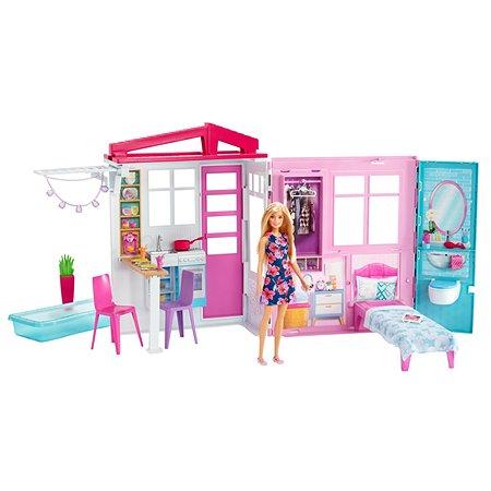 Дом Barbie с мебелью и аксессуарами FXG55